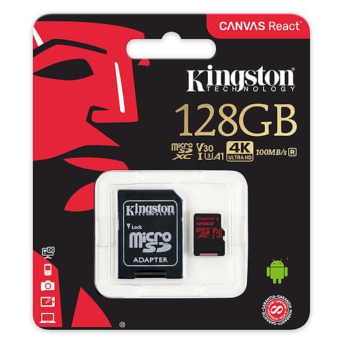 Kingston Canvas React SDCR/128GB pas cher