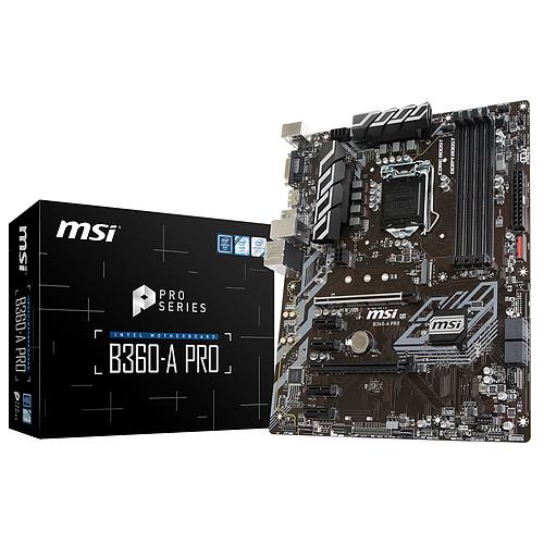 MSI B360-A PRO pas cher
