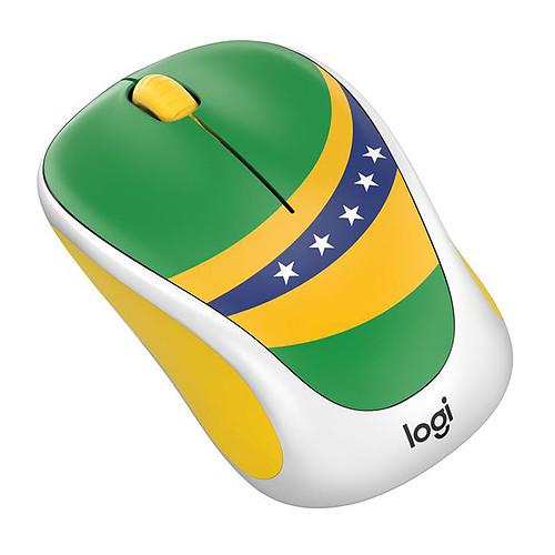 Logitech M238 Wireless Mouse Fan Collection Brésil pas cher