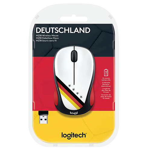 Logitech M238 Wireless Mouse Fan Collection Allemagne pas cher