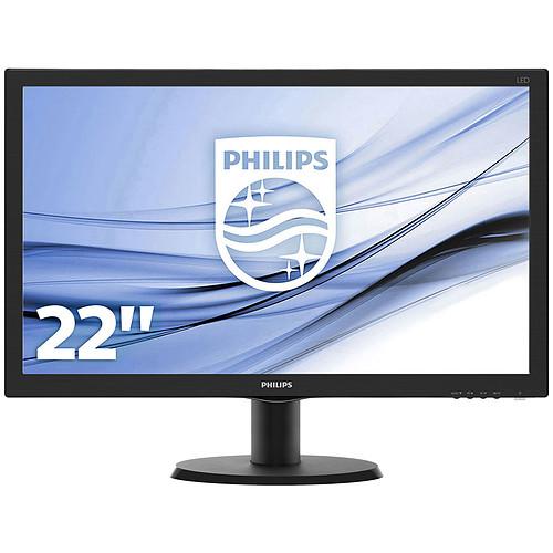 """Philips 21.5"""" LED - 223V5LHSB2 pas cher"""