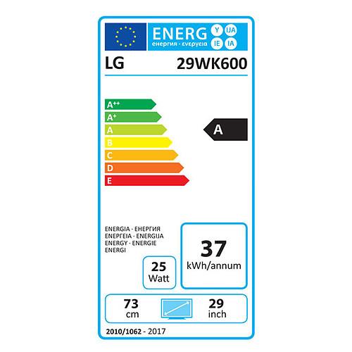 "LG 29"" LED 29WK600-W pas cher"
