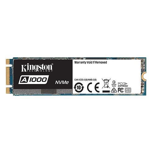 Kingston A1000 M.2 PCIe NVMe 960 Go pas cher