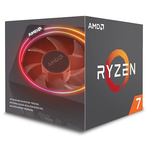 AMD Ryzen 7 2700X Wraith Prism Edition (3.7 GHz) avec mise à jour BIOS pas cher
