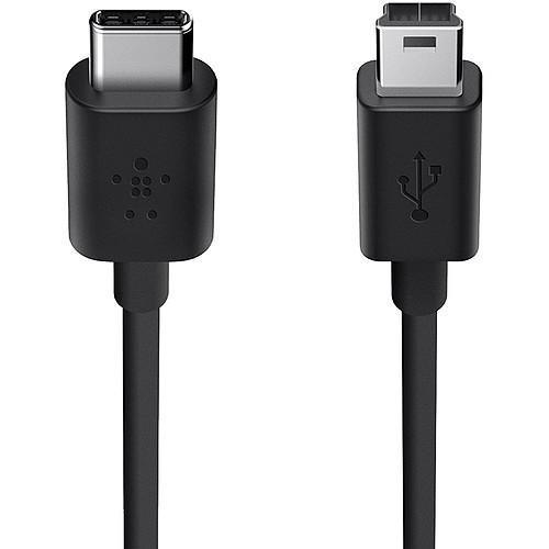 Belkin Câble USB 2.0 USB-C vers mini USB-B (F2CU034BT06-BLK) pas cher