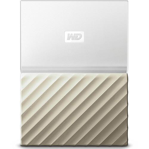 WD My Passport Ultra 3 To Blanc-Doré (USB 3.0) pas cher