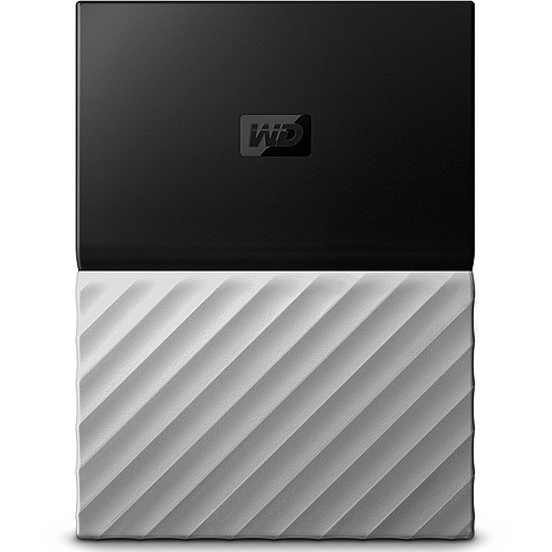 WD My Passport Ultra 2 To Gris-Noir (USB 3.0) pas cher