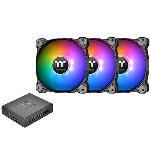 Thermaltake Pure Plus 14 LED RGB x3 pas cher