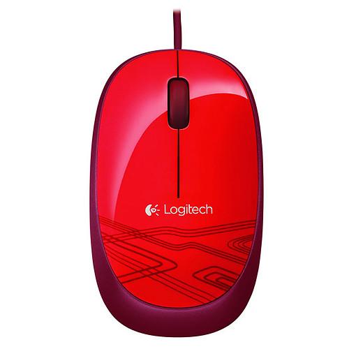 Logitech Corded Mouse M105 (Rouge) pas cher