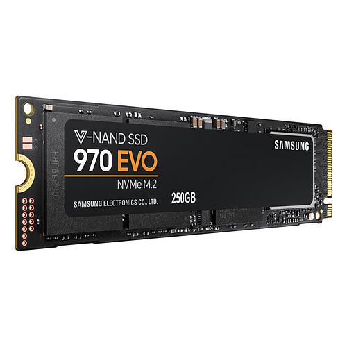 Samsung SSD 970 EVO M.2 PCIe NVMe 250 Go pas cher