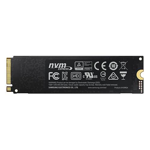 Samsung SSD 970 EVO M.2 PCIe NVMe 500 Go pas cher