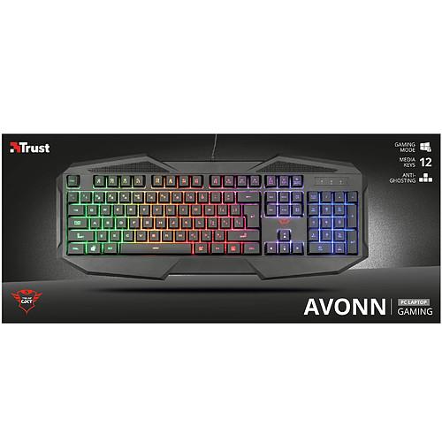 Trust Gaming GXT 830-RW Avonn Noir pas cher