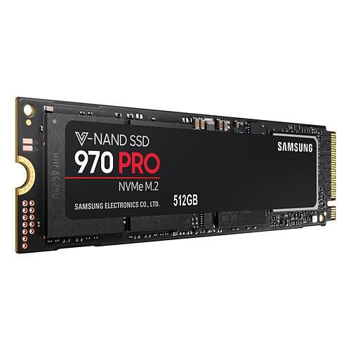 Samsung SSD 970 PRO M.2 PCIe NVMe 512 Go pas cher