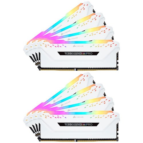 Corsair Vengeance RGB PRO Series 128 Go (8x 16 Go) DDR4 3200 MHz CL16 pas cher
