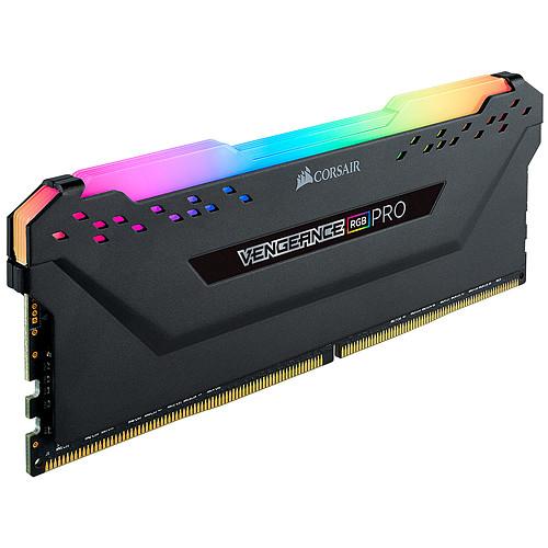 Corsair Vengeance RGB PRO Series 64 Go (4x 16 Go) DDR4 3466 MHz CL16 pas cher