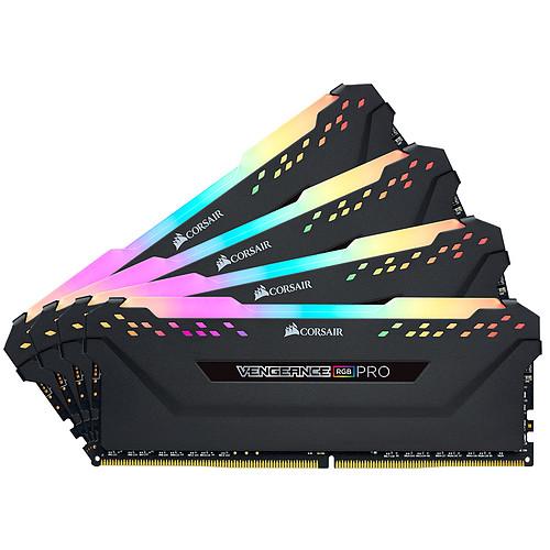Corsair Vengeance RGB PRO Series 64 Go (4x 16 Go) DDR4 3000 MHz CL15 pas cher
