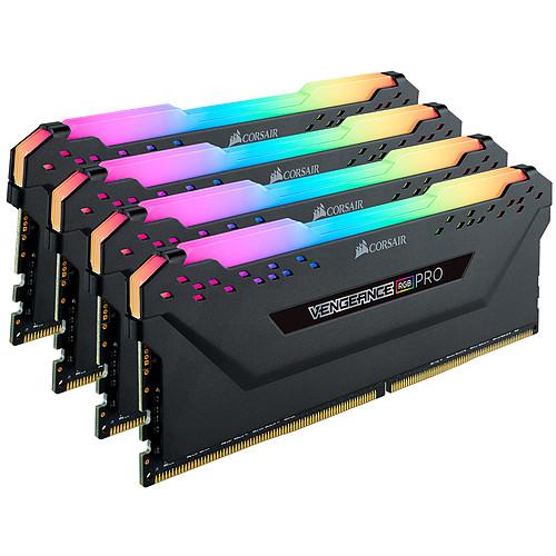 Corsair Vengeance RGB PRO Series 64 Go (4x 16 Go) DDR4 2933 MHz CL16 pas cher