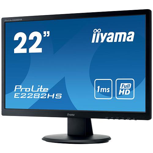 "iiyama 22"" LED - ProLite E2282HS-B1 pas cher"