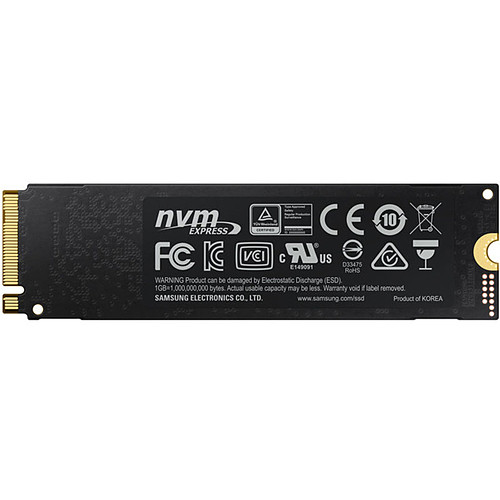 Samsung SSD 970 PRO M.2 PCIe NVMe 1 To pas cher