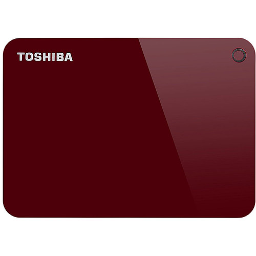 Toshiba Canvio Advance 4 To Rouge pas cher