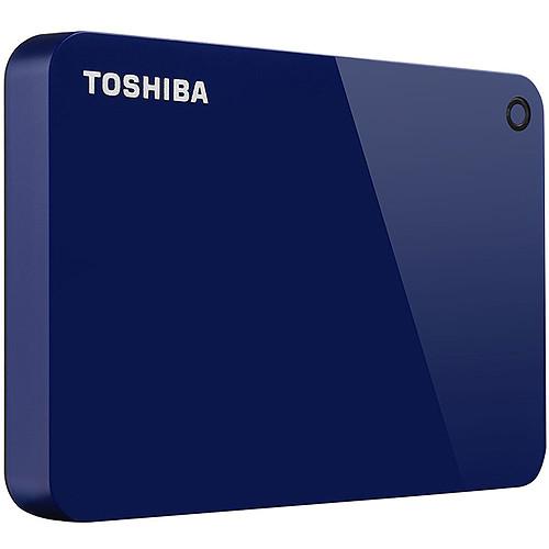 Toshiba Canvio Advance 4 To Bleu pas cher