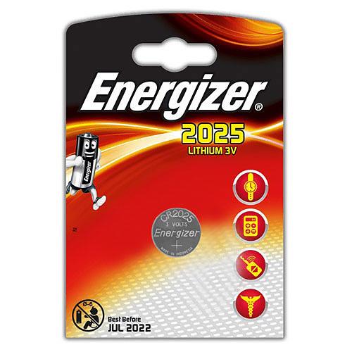 Energizer CR2025 Lithium 3V pas cher