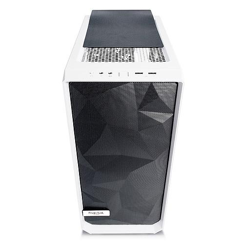 Fractal Design Meshify C TG (Blanc) pas cher