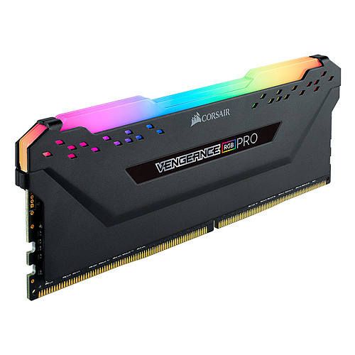 Corsair Vengeance RGB PRO Series 16 Go (2 x 8 Go) DDR4 4000 MHz CL16 pas cher