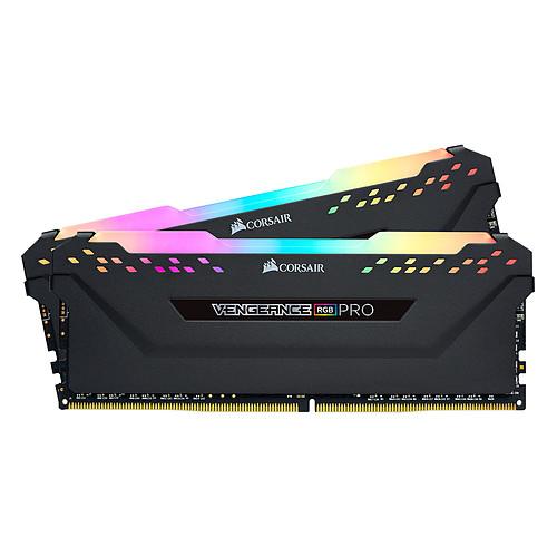 Corsair Vengeance RGB PRO Series 32 Go (2x 16 Go) DDR4 4000 MHz CL18 pas cher