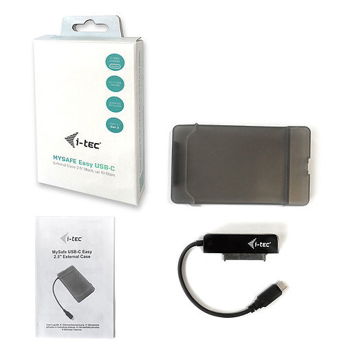i-tec MySafe USB-C Easy Noir pas cher