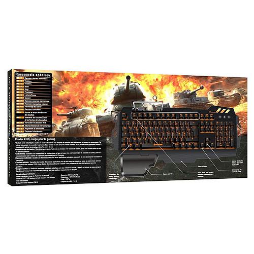 Konix World of Tanks K-50 pas cher