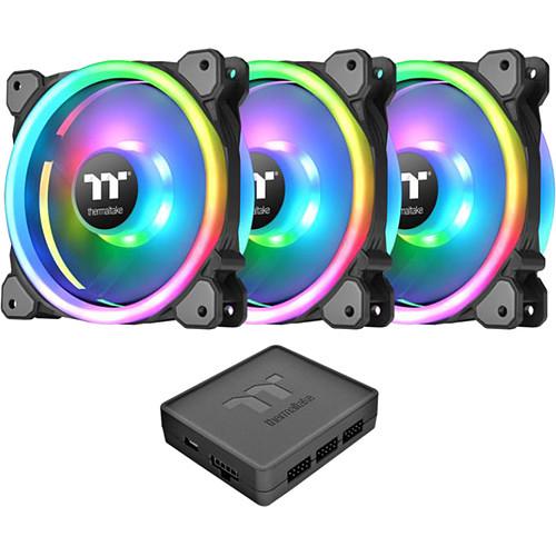Thermaltake Riing Trio 12 LED RGB Radiator Fan pas cher