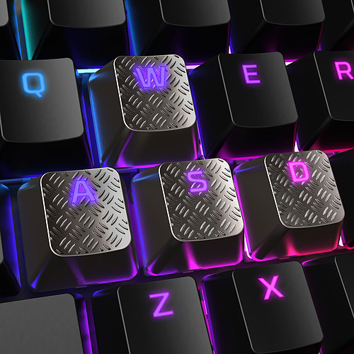 HyperX FPS/MOBA Gaming Keycaps Argent pas cher
