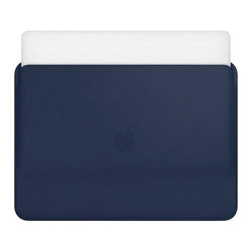"""Apple Housse Cuir MacBook Pro 15"""" Bleu nuit pas cher"""