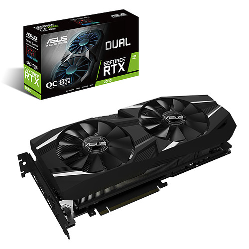 ASUS GeForce RTX 2080 DUAL-RTX2080-O8G pas cher