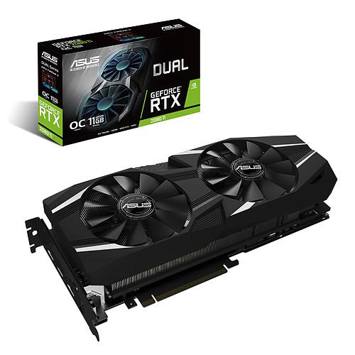 ASUS GeForce RTX 2080 Ti DUAL-RTX2080TI-O11G pas cher