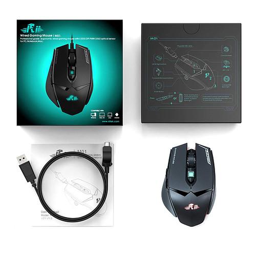 Riitek Gaming Mouse M01 pas cher