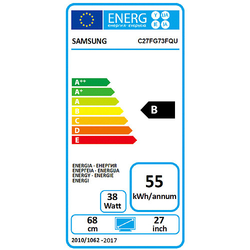 "Samsung 27"" LED - C27FG73FQ pas cher"