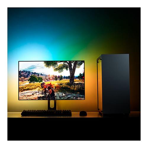 "NZXT HUE 2 Ambient RGB Lighting Kit V2 (21""-25"", 34""-35"" UltraWide) pas cher"