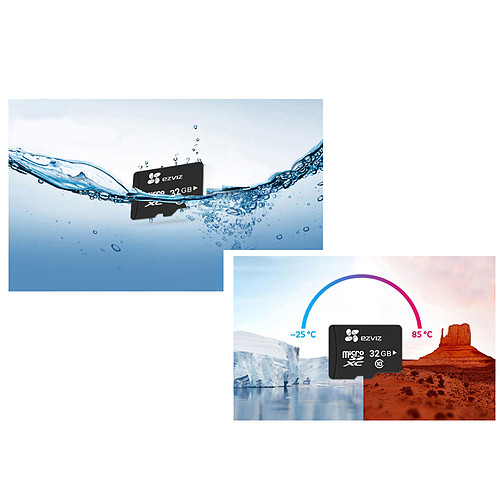 EZVIZ Carte Micro SDHC 32 Go pas cher