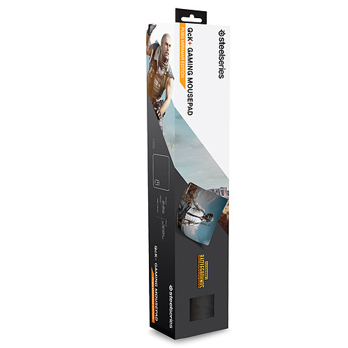 SteelSeries QcK+ (PUBG Miramar Edition) pas cher