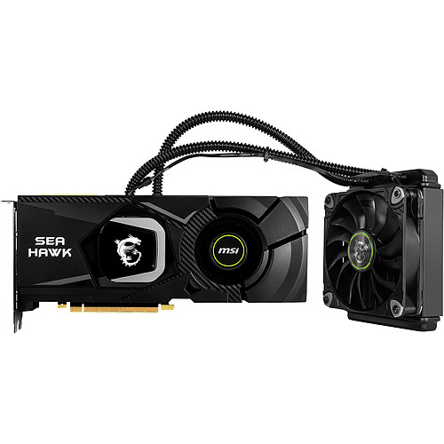 MSI GeForce RTX 2080 Ti SEA HAWK X pas cher