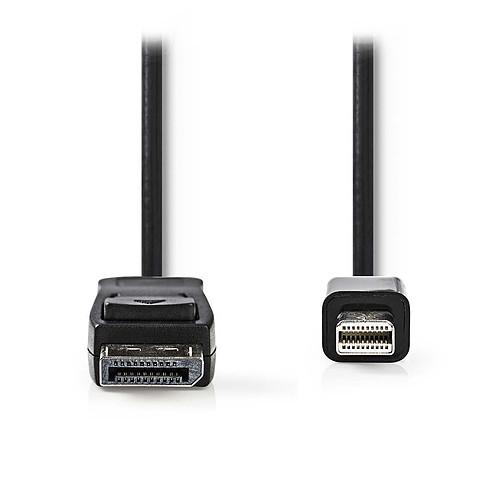 Nedis Câble DisplayPort mâle vers Mini DisplayPort mâle 4K Noir (2 mètres) pas cher