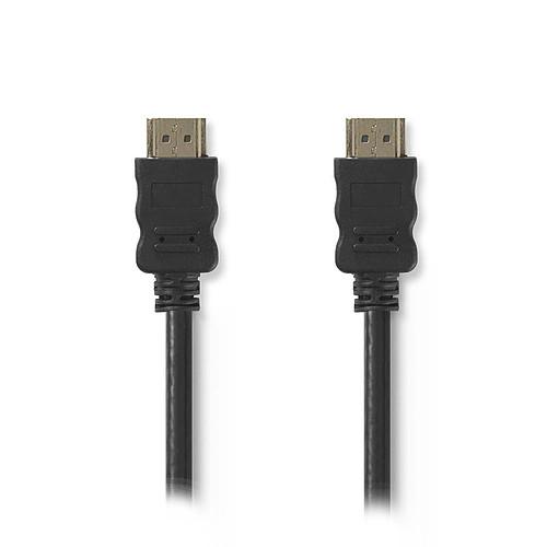 Nedis Câble HDMI haute vitesse avec Ethernet Noir (3 mètres) pas cher