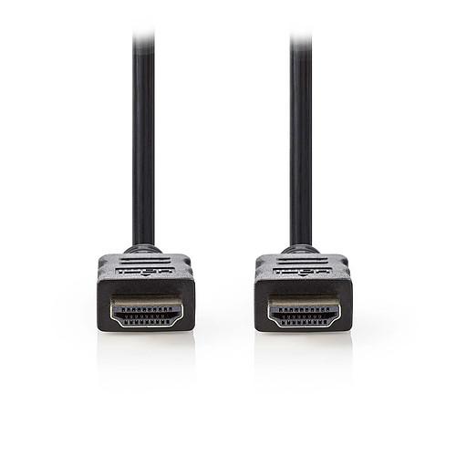 Nedis Câble HDMI haute vitesse avec Ethernet Noir (7.5 mètres) pas cher