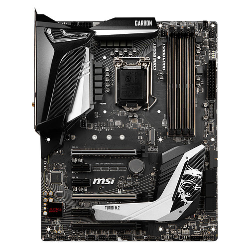 MSI MPG Z390 GAMING PRO CARBON AC pas cher