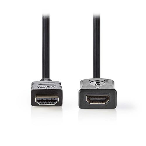 Nedis Rallonge HDMI haute vitesse avec Ethernet Noir (2 mètres) pas cher