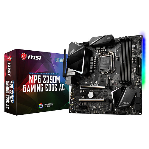 MSI MPG Z390M GAMING EDGE AC pas cher
