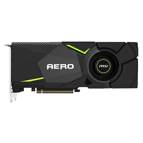 MSI GeForce RTX 2080 AERO 8G pas cher