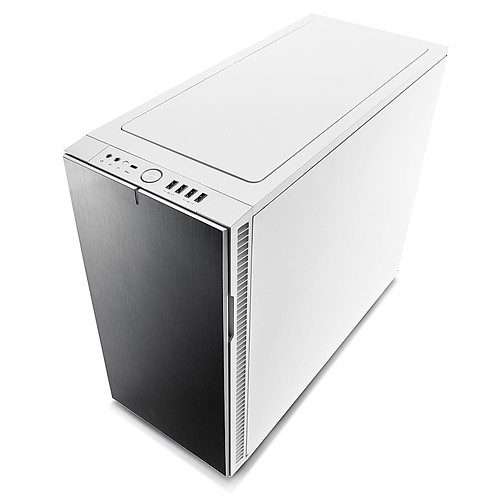 Fractal Design Define R6 USB-C Tempered Glass (blanc) pas cher